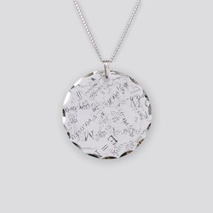 equationstrans Necklace Circle Charm