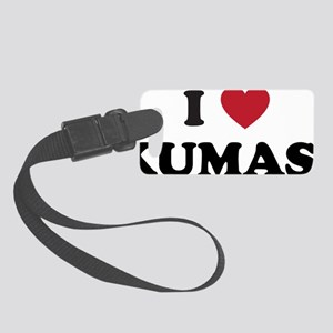 I Love Kumasi Small Luggage Tag