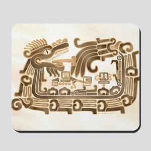 Xochicalco Feathered Serpent Mousepad