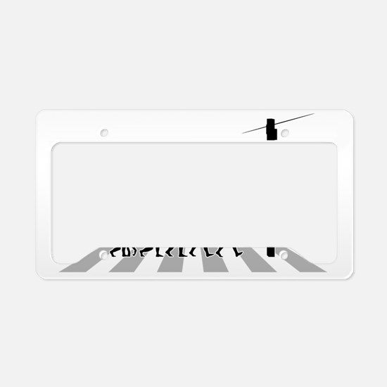 Telephone-Technician-B License Plate Holder