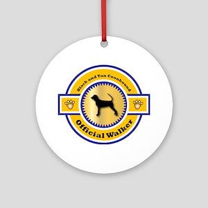 Coonhound Walker Ornament (Round)