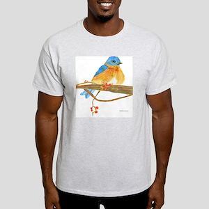 Young male bluebird Light T-Shirt
