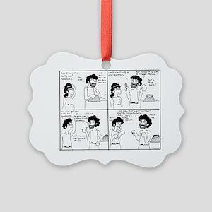 A Headache Cure Picture Ornament