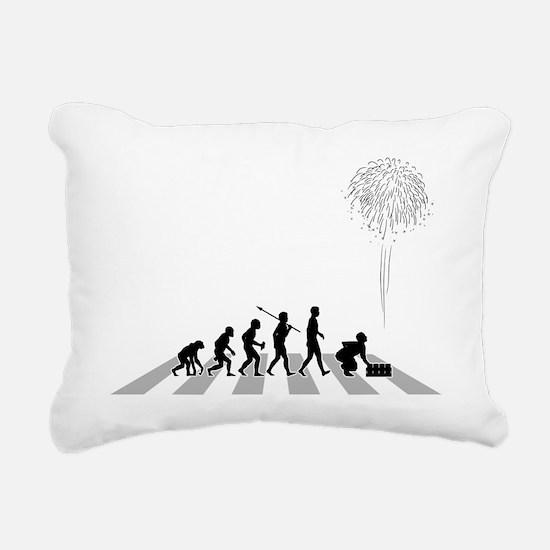 Pyrotechnician-B Rectangular Canvas Pillow