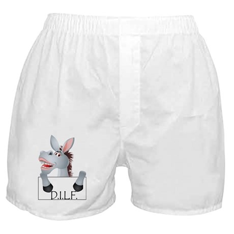STFU DILF Boxer Shorts