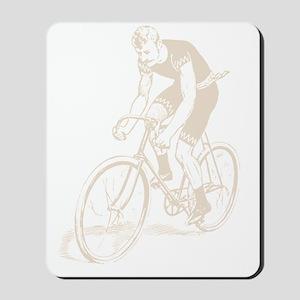 Retro Cyclist Mousepad