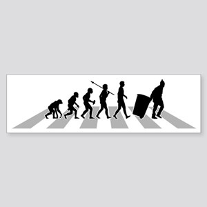 The Evolution of Man - Sticker (Bumper)