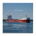 Csl St. Laurent Tile Coaster