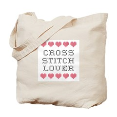 Cross Stitch Lover Tote Bag