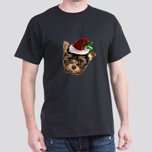 Christmas Yorkshire Terrier dog T-Shirt