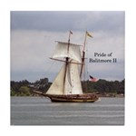 Pride Of Baltimore Ii Tile Coaster