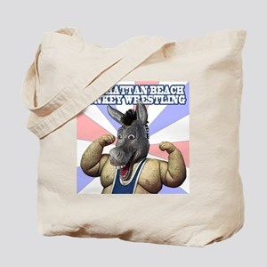 MBDonkeyWrestling Tote Bag
