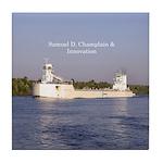 Samuel D. Champlain & Innovation Tile Coaster