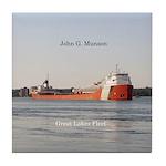 John G. Munson Tile Coaster