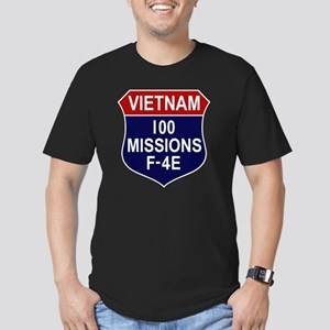 F-4E Phantom II Men's Fitted T-Shirt (dark)