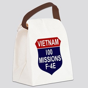 F-4E Phantom II Canvas Lunch Bag