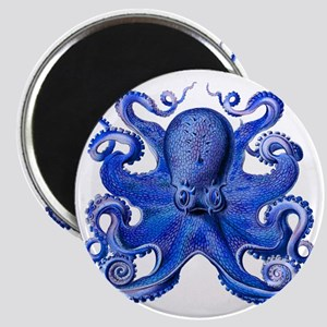 Blue Octopus Magnet