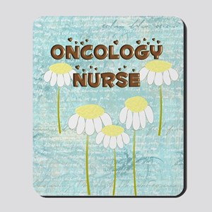 Oncology Nurse Daisies Electronics Mousepad