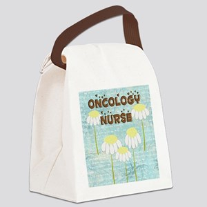 Oncology Nurse Daisies Electronic Canvas Lunch Bag