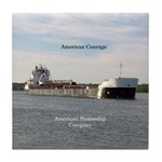American Courage Tile Coaster