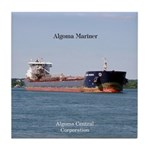 Algoma Mariner Tile Coaster
