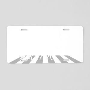 Base-Jumper-A Aluminum License Plate