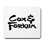 Cox & Forkum Logo Mousepad