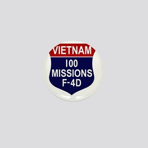 F-4D Phantom II Mini Button