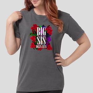 Delta Zeta Big Floral Womens Comfort Colors Shirt