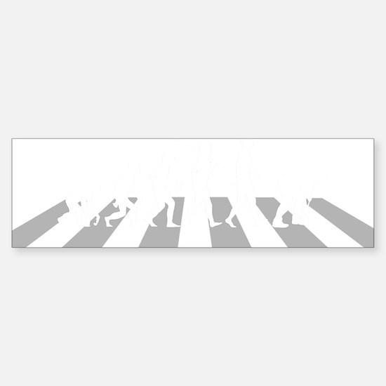 Croquet-A Sticker (Bumper)