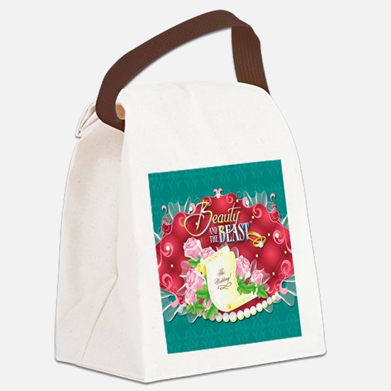 Beauty And The Beast™ Canvas Lunch Bag