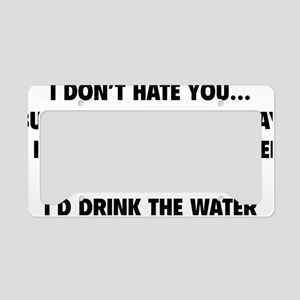 bucketOfWater1A License Plate Holder