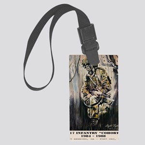 4-17 COHORT Poster Large Luggage Tag