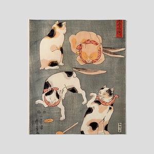 Utagawa Kuniyoshi Throw Blanket