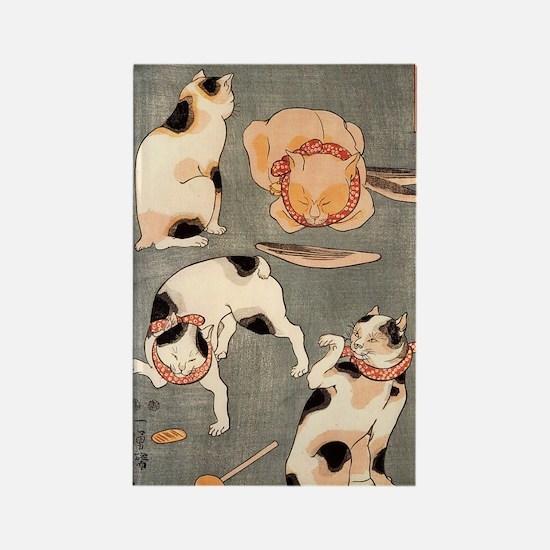 Utagawa Kuniyoshi Rectangle Magnet