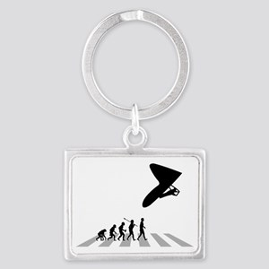 Hang-Gliding-03-B Landscape Keychain
