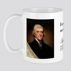 Thomas Jefferson - Difference Mug