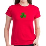 Shamrock Symbol Women's Dark T-Shirt