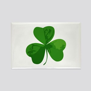 Shamrock Symbol Rectangle Magnet