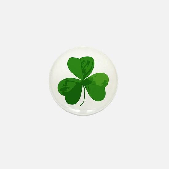 Shamrock Symbol Mini Button