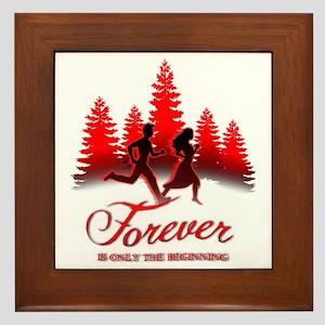 Forever is Only The Beginning (Bella   Framed Tile