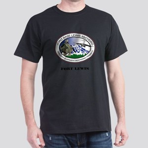 Fort Lewis with Text Dark T-Shirt
