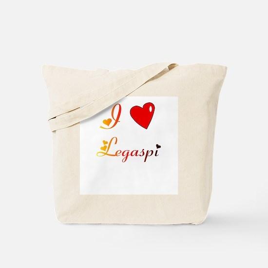 I Love Legaspi Gifts Tote Bag