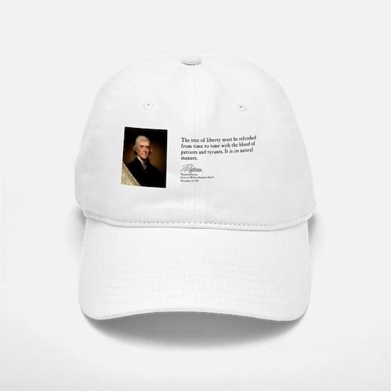 Thomas Jefferson  - Tree of Liberty Baseball Baseball Cap