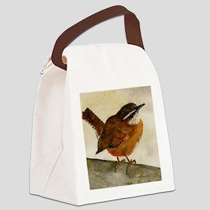 Carolina Wren Canvas Lunch Bag