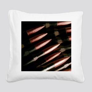 Reloaded Ammo Square Canvas Pillow