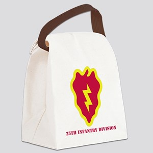 SSI - 25th Infantry Division with Canvas Lunch Bag