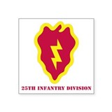 25th infantry division Square