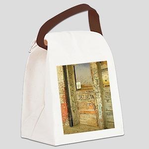 Ground Zero Delta Door Shower Cur Canvas Lunch Bag