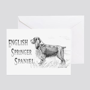 English Springer Spaniel Greeting Cards (10 Pk)